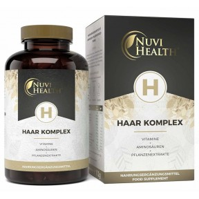 Комплекс для волос, кожи и ногтей, Высокая доза, ЗАПАС НА 2-3 МЕСЯЦА, с биотином, селеном, кремнеземом, группой витаминов B, А, Е. Чистый продукт, ИЗ ГЕРМАНИИ