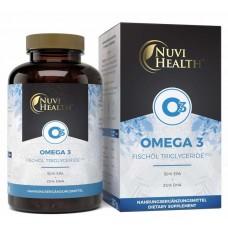 Омега 3, Рыбий Жир, триглицеридная форма, ЗАПАС НА 5-6 МЕСЯЦЕВ, DHA и EPA, укрепляет клетки мозга, сердце, печень, снижает воспаления, без добавок, ИЗ ГЕРМАНИИ