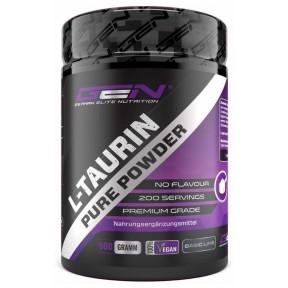 Таурин, порошок, 500 грамм, важен для нервной системы, укрепляет сердце, почки, регулирует уровень сахара в крови, для спортсменов и набора мышечной массы, ИЗ ГЕРМАНИИ