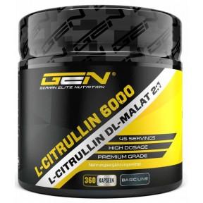 L-цитруллин + DL-Малат 6000, запас на 3-4 месяца, для выработки энергии после тренировки, выводит молочную кислоту, усиливает эффект аргинина, ИЗ ГЕРМАНИИ