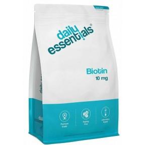 БИОТИН 10 мг, ОГРОМНЫЙ ЗАПАС НА 1,5 ГОДА! Для чистой кожи, крепких волос и ногтей, высоко дозированный, веганское качество, витамин B7, без добавок, ИЗ ГЕРМАНИИ
