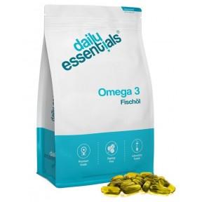 Омега-3 капсулы рыбьего жира, ОГРОМНЫЙ ЗАПАС НА 1 ГОД! 500 капсул, высокая доза с 1000 мг, улучшает работу мозга, для правильной работы нервной системы, ИЗ ГЕРМАНИИ