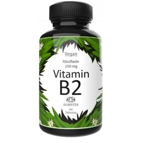 Витамин B2 - Рибофлавин - дозировка 250 мг, запас на 6-7 МЕСЯЦЕВ, дает энергию и придает сил. Чистый продукт, из ГЕРМАНИИ
