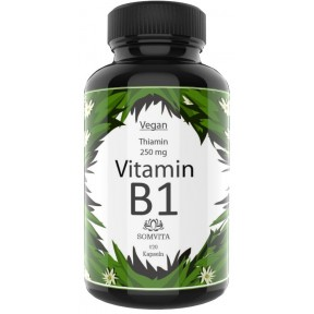 Витамин B1 тиамин - 250 мг на капсулу, ОЧЕНЬ ВЫСОКАЯ ДОЗИРОВКА , без нежелательных добавок, ЗАПАС НА 3-4 МЕСЯЦА, укрепляет нервы, мозг, зрения. ИЗ ГЕРМАНИИ