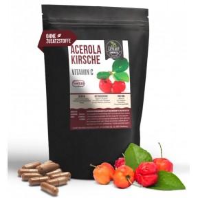 Ацерола в капсулах, запас на 3-4 МЕСЯЦА, очень богата витамином С, витаминами группы B, А, укрепляет иммунитет, сердце, сосуды, защищает клетки мозга. Купить ИЗ ГЕРМАНИИ