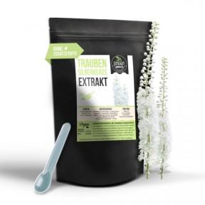 Черный кохош, клопогон кистевидный – ЭКСТРАКТ, 100% чистота, запас на 5-6 МЕСЯЦЕВ, мочегонное, применяют как успокоительное, при менопаузе, ИЗ ГЕРМАНИИ