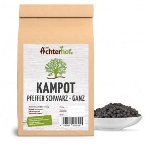 """Настоящий черный перец """"Кампота"""", цельный, острый и пряный, содержит ценные эфирные масла, свежемолотый, травяной аромат, 100% чистота, ИЗ ГЕРМАНИИ"""