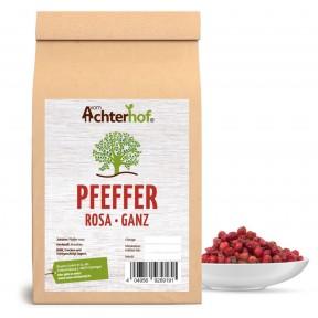 Розовый перец, 100% чистота, цельный, терпкий, фруктово-сладкий аромат, снимает воспаления, улучшает пищеварение, кожу, кровообращение, 100 грамм, ИЗ ГЕРМАНИИ