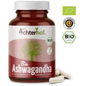 Ашваганда, в капсулах, запас на 5-6 МЕСЯЦЕВ, расслабляет, усиливает либидо, антиоксидант, улучшает память, 100% чистота, стимулирует кровообращение, ИЗ ГЕРМАНИИ