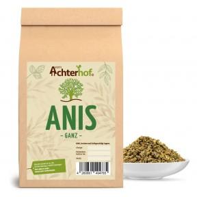 Анис, цельные семена, 100% чистота, улучшает пищеварение, полезен для кормящих матерей, при простудах, употреблять в виде чая или как приправу, 100 г, ИЗ ГЕРМАНИИ