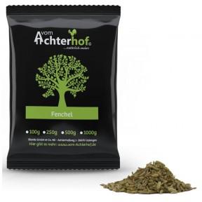 Фенхель, цельный, 100% чистота, применяется как лекарственное растение, чай, приправа, для засолки, улучшает пищеварение, нервную систему, 100 г ИЗ ГЕРМАНИИ