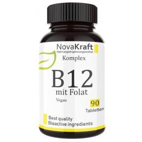 Витамин B12 ВЕГАНСКИЙ, 100% ЧИСТОТА, Победитель 2020 г, ЗАПАС НА 6-7 МЕСЯЦЕВ, Обе активные формы аденозил и метилкобаламин + Депо + Фолат 5-MTHF высокая доза, из ГЕРМАНИИ