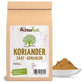 Кориандр молотый (кинза), 100% чистота, можно применять как пряность для ароматизации и витаминизации сыра, маринадов, солений и ликёров, 100 г ИЗ ГЕРМАНИИ