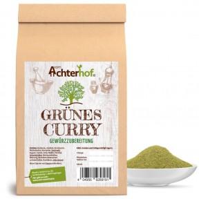 Тайская зеленая смесь Карри, 100% чистота, снижает воспаления, очищает печень, почки, сжигает жир, укрепляет иммунитет, антиоксидант, содержит витамины В, A, и C, 100 г, ИЗ ГЕРМАНИИ