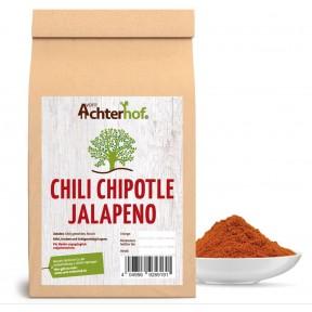 Перец Чили Халапеньо, 100% чистота, пряный аромат и дымный, на вкус острый и имеет сладкую нотку, подходит к грилю, маринадам, десертов, антибактериальное свойство, 100 г ИЗ ГЕРМАНИИ
