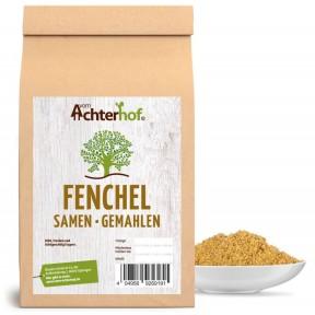 Фенхель, порошок, 100% чистота, содержит витамины В, С, РР; микро и макроэлементы; улучшает работу кишечника; рекомендуется при неврастении, бессоннице, 100 г ИЗ ГЕРМАНИИ