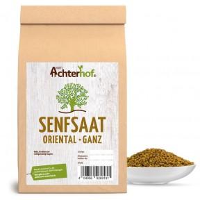Семена черной горчицы Oriental, 100% чистота, нормализуют дыхание, кровообращение, мышечную активность, улучшают метаболизм и энергетический обмен, 100 г ИЗ ГЕРМАНИИ