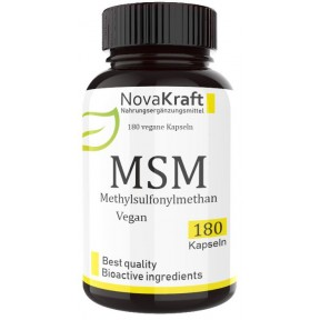 МСМ (сера), запас на 6-7 МЕСЯЦЕВ, 180 капсул, 1600 мг МСМ на суточную дозу, 99,9% чистоты, ОЧЕНЬ высокая биодоступность, меш фактор 60-80, Метилсульфонилметан из ГЕРМАНИИ