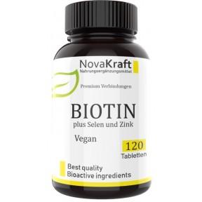 Биотин + селен + цинк – Запас на 3-4 МЕСЯЦА, хелатный цинк, биодоступный селен, 100% чистота, защищает сердце, почки, улучшает кожу, зубы, кости, повышает фертильность, ИЗ ГЕРМАНИИ