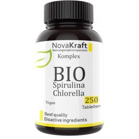 Спирулина и Хлорелла, ЗАПАС НА 8-9 МЕСЯЦЕВ! 400 мг в таблетке, улучшает иммунную систему, процессы пищеварения, омолаживает организм, очищает от токсинов, ИЗ ГЕРМАНИИ