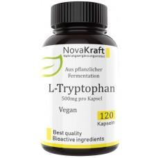 L-триптофан, запас на 3-4 месяца, 120 веганских капсул! Нейротрансмиттер серотонина – гормона хорошего настроения, улучшает сон, повышает спокойствие, 100% чистота, ИЗ ГЕРМАНИИ