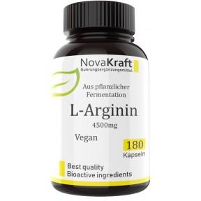L-аргинин 100% растительный! L-Arginin HCL, 180 капсул! Запас на 2-3 МЕСЯЦА, важен для укрепления и роста мышц, стимулирует гормон роста, укрепляет сердце и сосуды, ИЗ ГЕРМАНИИ