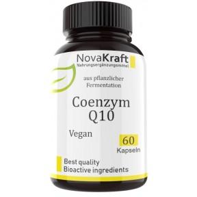 Коэнзим Q10, РАСТИТЕЛЬНЫЙ, натуральный, запас на 2-3 МЕСЯЦА, веганский! с высокой дозой 200 мг Ubiquinon на капсулу, из ферментации, омолаживает, ИЗ ГЕРМАНИИ