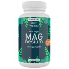 НАТУРАЛЬНЫЙ Магний, 664 мг оксида магния, из морской воды! ЗАПАС НА 4-5 МЕСЯЦЕВ, 100% веганский, укрепляет нервную систему, сердце, сосуды, мышцы, ИЗ ГЕРМАНИИ