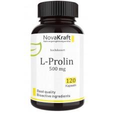 L-пролин, аминокислота, запас на 4-5 МЕСЯЦЕВ, высокая доза 500 мг, играет решающую роль в синтезе коллагена в организме и блокирует ферменты, разрушающие коллаген, ИЗ ГЕРМАНИИ