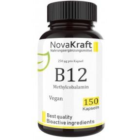 Витамин B12 (метилкобаламин), запас на 5 МЕСЯЦЕВ, веганский. Уврепляет нервную систему, важен для восстановления головного и спинного мозга, улучшает сон, восстанавливает зрение, ИЗ ГЕРМАНИИ