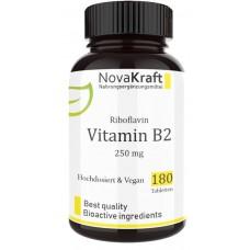 Витамин В2, рибофлавин, ВЫСОКАЯ доза – 250 мг, ЗАПАС НА 6-7 МЕСЯЦЕВ, дает энергию, ускоряет рост новых клеток кожи, слизистых оболочек, ногтей, ИЗ ГЕРМАНИИ