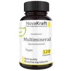 Комплекс «Минералы + микроэлементы», содержит йод, кальций, магний, селен, хром, железо, кальций, медь, молибден, для нервной, иммунной системы, укрепляет кости, зубы, волосы, ИЗ ГЕРМАНИИ