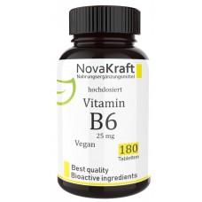 Витамин В6, пиридоксин, запас на 6-7 МЕСЯЦЕВ, важен для кроветворения, иммунитета, для укрепления нервной системы, играет роль в обмене веществ, выработке серотонина, 100% чистота, ИЗ ГЕРМАНИИ