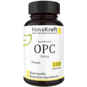 OPC + биофлавоноиды, запас на 6 МЕСЯЦЕВ! Веганский, укрепляет сосуды, максимальная концентрация 95%, регулирует давление, улучшает пищеварение, 100% чистота, ИЗ ГЕРМАНИИ