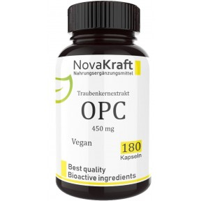 OPC, ресвератрол, запас на 4-5 МЕСЯЦЕВ, ОЧЕНЬ высокая доза – 450 мг, помогает сжечь жир, наладить пищеварение, очищает сосуды, укрепляет сердце, регулирует сахар в крови, 100% чистота, ИЗ ГЕРМАНИИ