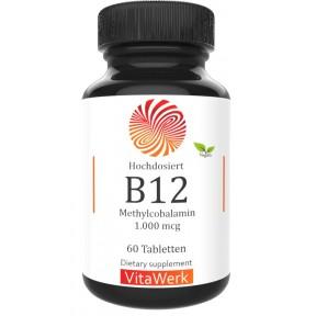 Метил B12 – ЗАПАС НА 4-5 МЕСЯЦЕВ, Метилкобаламин (мекобаламин), укрепляет нервы, клетки мозга, сердце, увеличивает энергию, восстанавливает поврежденные клетки, ИЗ ГЕРМАНИИ