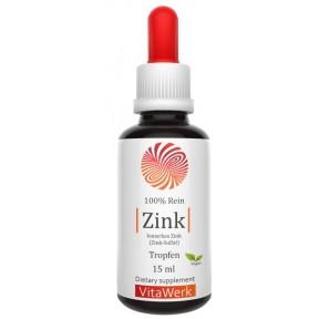 Цинк, жидкий, в КАПЛЯХ, запас на 2-3 МЕСЯЦА, сульфат цинка, укрепляет кости, волосы, важен для зрения. Правильная дозировка. 100% чистота, ИЗ ГЕРМАНИИ