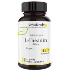 L-теанин 200 мг, запас на 4-5 МЕСЯЦЕВ, 120 веганских капсул; 100% чистота! Изготовлено в Германии, для здоровья мозга, укрепляет нервную систему, улучшает работу мозга и память, ИЗ ГЕРМАНИИ