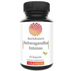 Экстракт из корня Ашваганды, запас на 1,5-2 МЕСЯЦА, выоская дозировка, успокаивает, против стресса, для улучшения сна, 100% чистота, веганский, витанолиды, ИЗ ГЕРМАНИИ