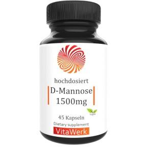 Д-манноза, запас на 1,5-2 МЕСЯЦА, 100% чистота, блокирует размножение патогенных бактерий в мочевом тракте, предотвращает развития различных инфекций, ИЗ ГЕРМАНИИ