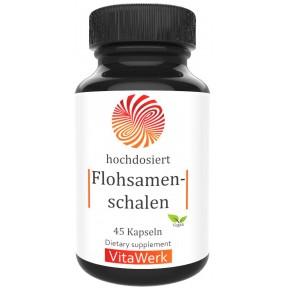 Шелуха семян подорожника Psyllium, запас на 1,5-2 МЕСЯЦА, 100% веганский, уменьшает чувство голода, улучшает пищеварение, уменьшить тягу к пище, 100% чистота, ИЗ ГЕРМАНИИ