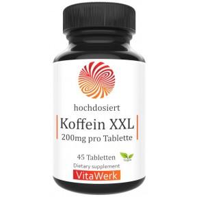 Кофеин 200 мг, запас на 1,5-2 МЕСЯЦА, бодрит при сонливости, уменьшает головные боли при мигренях, умеренно повышает артериальную гопотензию, расширяет сосуды, 100 чистота, ИЗ ГЕРМАНИИ