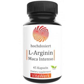 L - аргинин + мака, 100% чистота, запас на 30-45 дней, стимулирует иммунитет и выброс гормона роста, омолаживает организм, уменьшает подкожный жир, ИЗ ГЕРМАНИИ