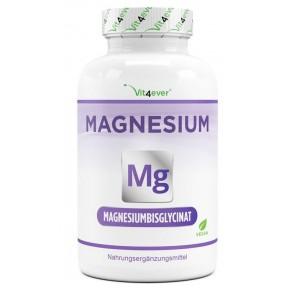 Бисглицинат магния, запас на 10 МЕСЯЦЕВ, укрепляет работу нервной системы, снижает усталость, улучшает работу мозга, боидоступная форма, 100% чистота, ИЗ ГЕРМАНИИ