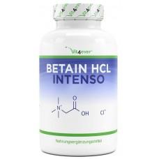 Бетаин HCL с экстрактом пепсина + горечавки, улучшает работу ЖКТ, улучшает работу печени, сердца, нервно системы, веганский, выравнивает гомоцистеин, 100% чистота, ИЗ ГЕРМАНИИ