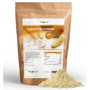 Картофельные волокна, только 8% углеводов, запас на 5-6 МСЯЦЕВ, 100% чистота, замена муки, для выпечки, соусов, супов, для сброса веса, премиум класс, ИЗ ГЕРМАНИИ