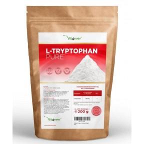 L-триптофан, чистый порошок, запас на 4-5 МЕСЯЦЕВ, для лучшего сна, дает спокойствие, гормон счастья, помогает выработке серотонина, мелатонина, 100% чистота, ИЗ ГЕРМАНИИ