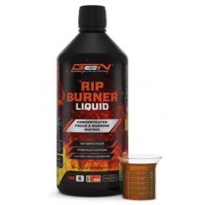 Натуральный коктейль для бодрости в силовых тренировках RIP Burner Liquid 1 литр, дает энергию, повышает выносливость, стимулирует работу мозга, 100% чистота, ИЗ ГЕРМАНИИ