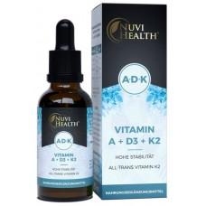 Витамин А + Д3 + К2 - ОЧЕНЬ большое количество в бутыльке - 50 мл! Содержит витамин А + Д3 + К2 ХВАТАЕТ НА 2 ГОДА ПРИЁМА! Продукт из ГЕРМАНИИ