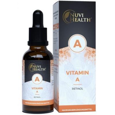 Витамин A ретинол в каплях - ОЧЕНЬ большое количество в бутыльке - 50 мл! ХВАТАЕТ НА 2 ГОДА ПРИЁМА Содержит витамин А - 1700 капель! Продукт из ГЕРМАНИИ